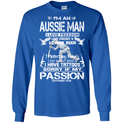 Aussie Man Shirts You Don't Like It Move
