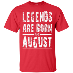 August Shirts Legends Born In August