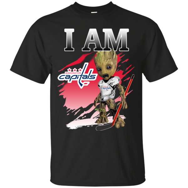 I Am Groot Washington Capitals Shirts