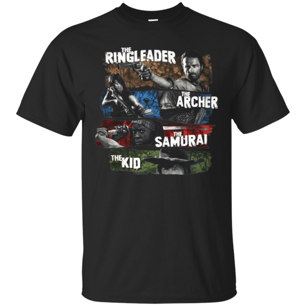 The Walking Dead Shirts Ringleader Archer Samurai Kid