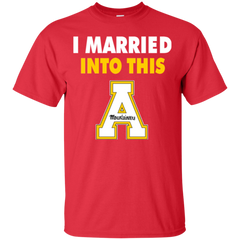 Appalachian State Mountaineers T shirts I Married Into This