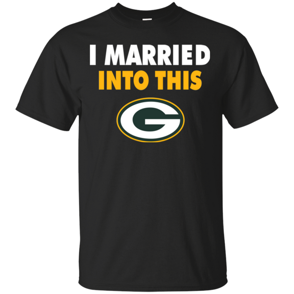 Green Bay Packers T shirts I Married Into This