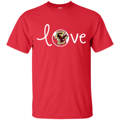 Boston College Eagles T shirts Love