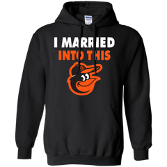 Baltimore Orioles T shirts I Married Into This