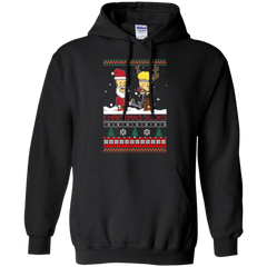 Beavis and Butt Head Ugly Christmas Sweater