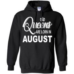 August Girl Shirts Queens Are Born In August