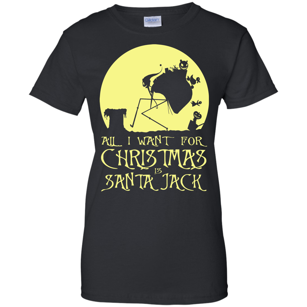 Nightmare Before Christmas Shirts All I Want For Christmas Is Santa ...