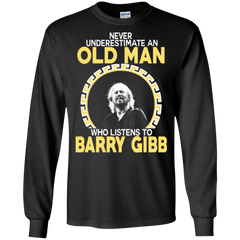Barry Gibb Shirts Old Man Listens To Barry Gibb