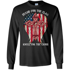 Arizona Coyotes Shirts Stand For The Flag Kneel For The Cross T shirts