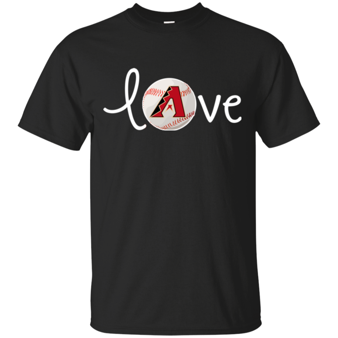 Arizona Diamondbacks T shirts Love