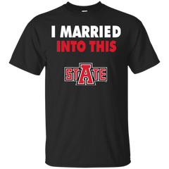 Arkansas State Red Wolves T shirts I Married Into This