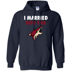Arizona Coyotes T shirts I Married Into This