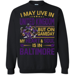 Baltimore Ravens United Kingdom Shirts Live In United Kingdom But Heart & Soul In Baltimore