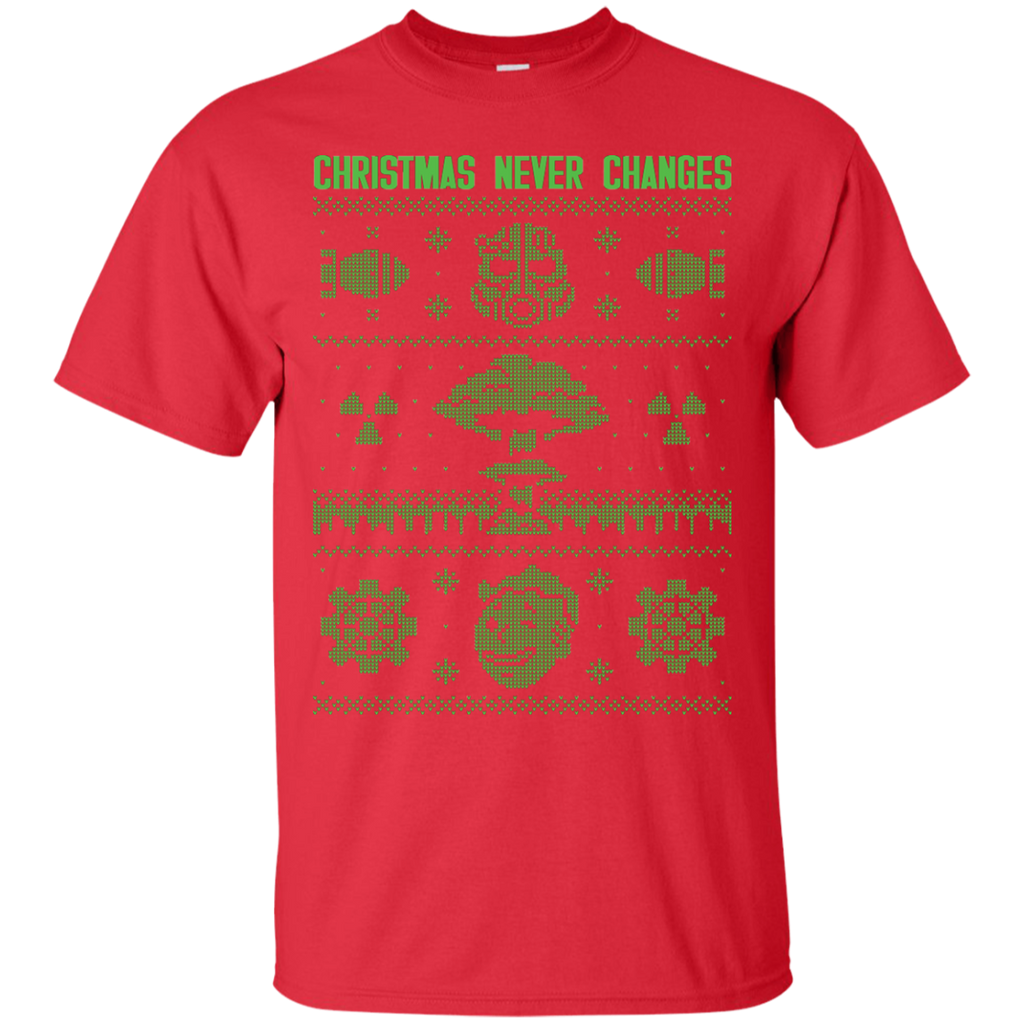 Fallout Ugly Christmas Sweater Shirts The Christmas Never Changes ...