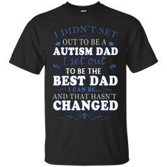 Autism Dad Shirts Set Out To Be The Best Dad