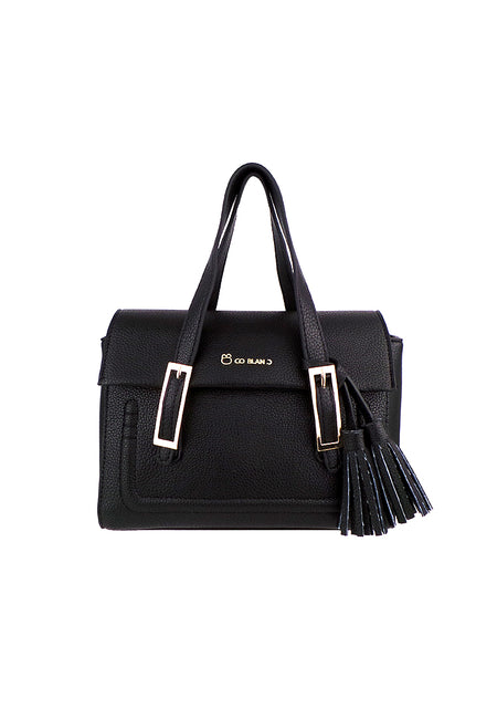 Twin Handle Front Flap Sling Bag