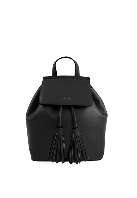 Front Flap Backpack with Tassels