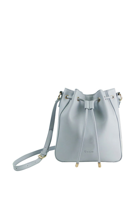 Drawstring Bucket Crossbody Bag