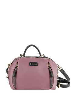 Top Handle with Sling Boston Bag