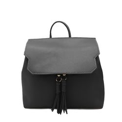 Backpack with Tassel Details