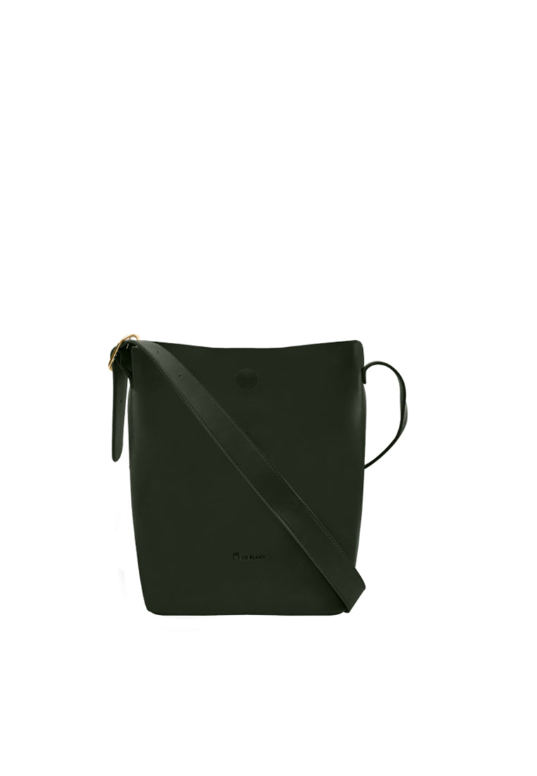 Simple Shoulder Bag with Side Buckle