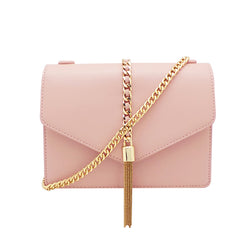 Envelope Sling Bag with Metal Tassel