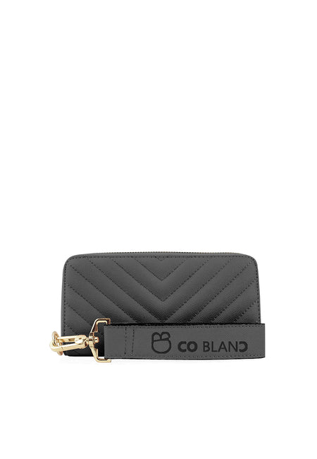 Classic Zipper Wallet with Wristlet Straps