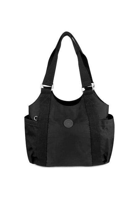 Nylon Shoulder Tote Bag