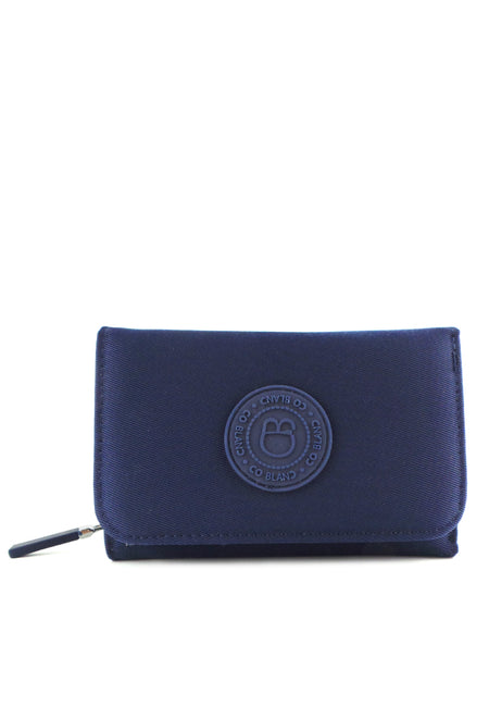 Nylon Medium Zip-Up Wallet