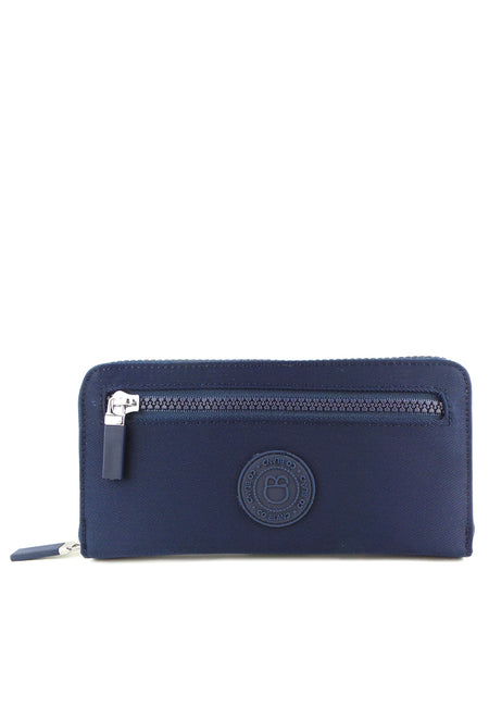Nylon Zip Around Wallet