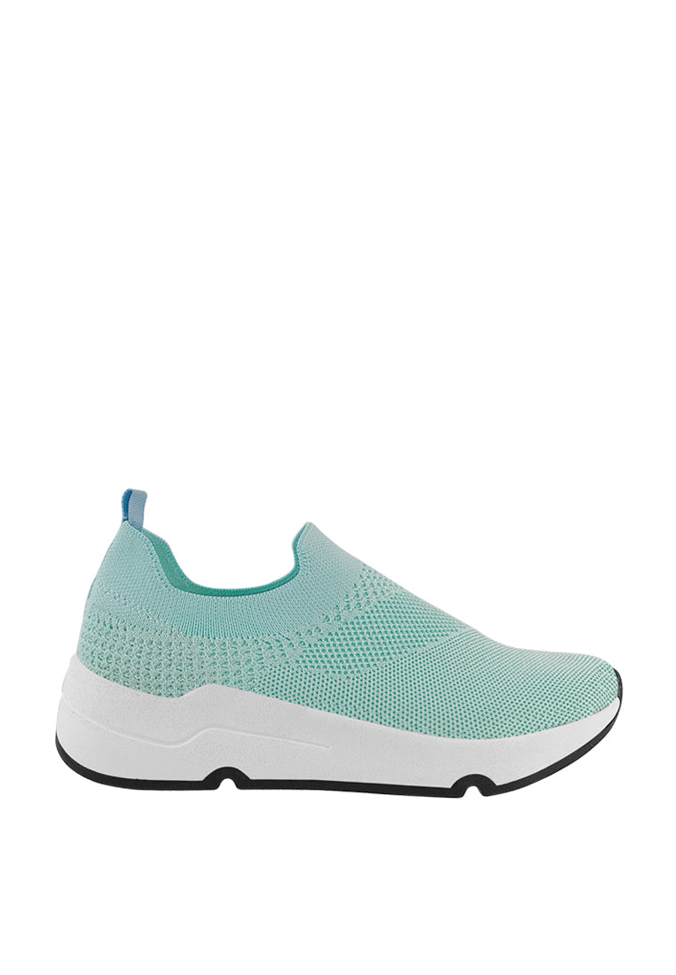 Stretch Fabric Sneakers