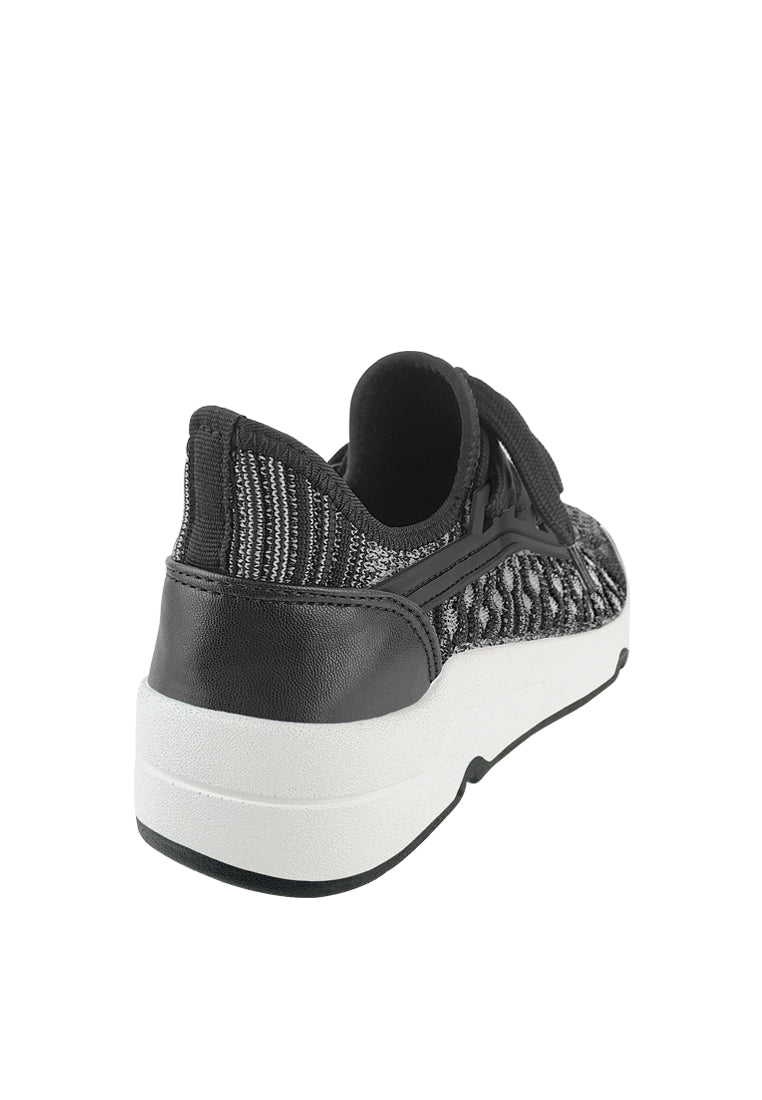 Lace Up Knitted Sneakers