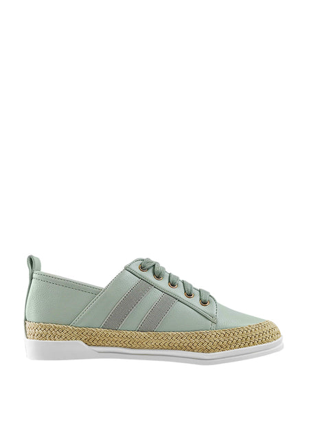 Side Dual Stripe Sneakers