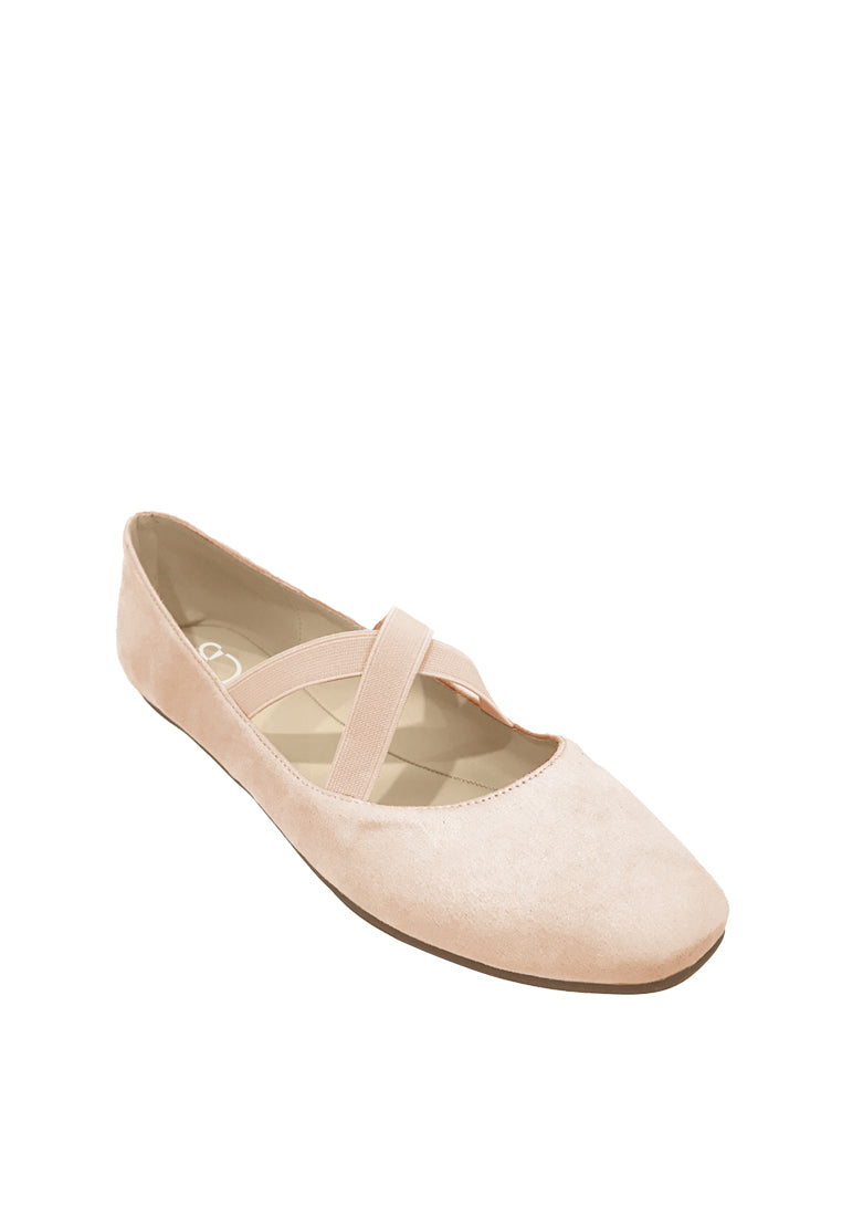 Ballerinas with Criss-cross Strap