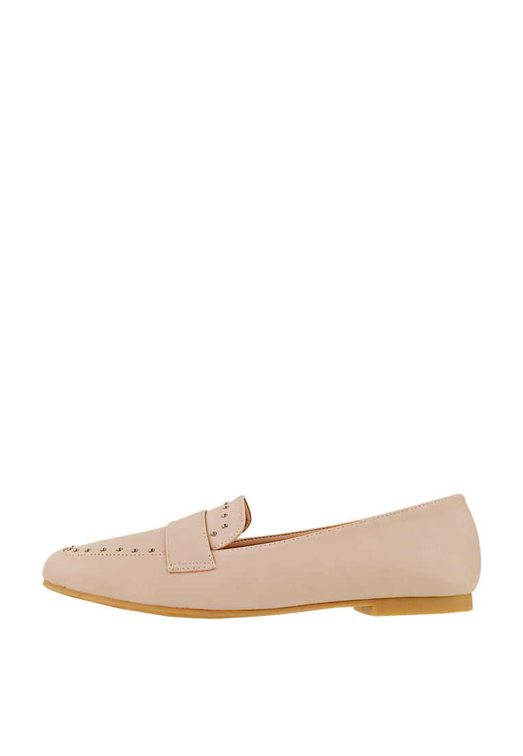 Loafers with Stud Details