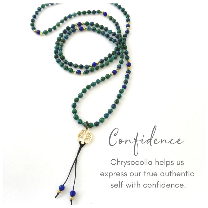 Confidence Gemstone Necklace
