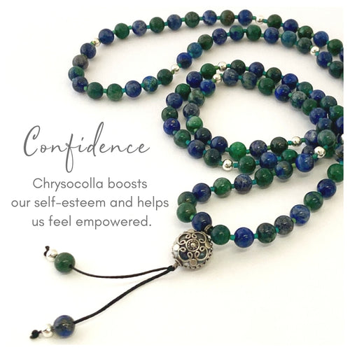 Confidence Gemstone Mala