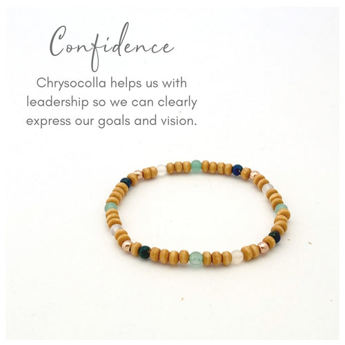 Confidence Tiny Bead Bracelet