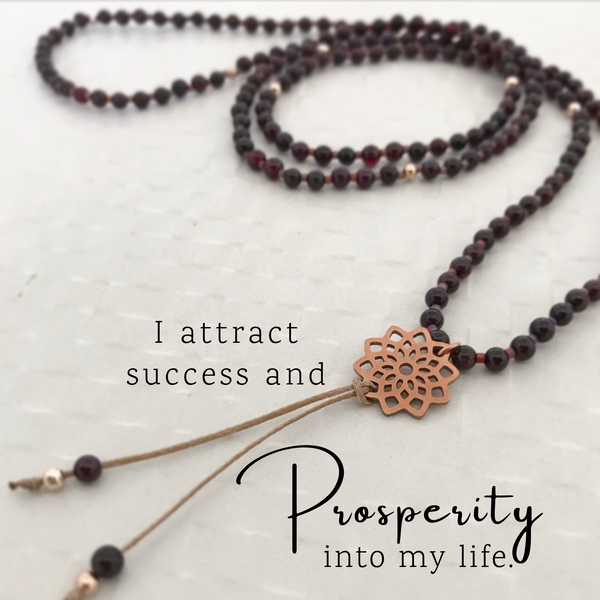 Success Necklace - Gems