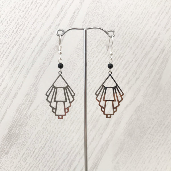Deco Earrings ~ Protection