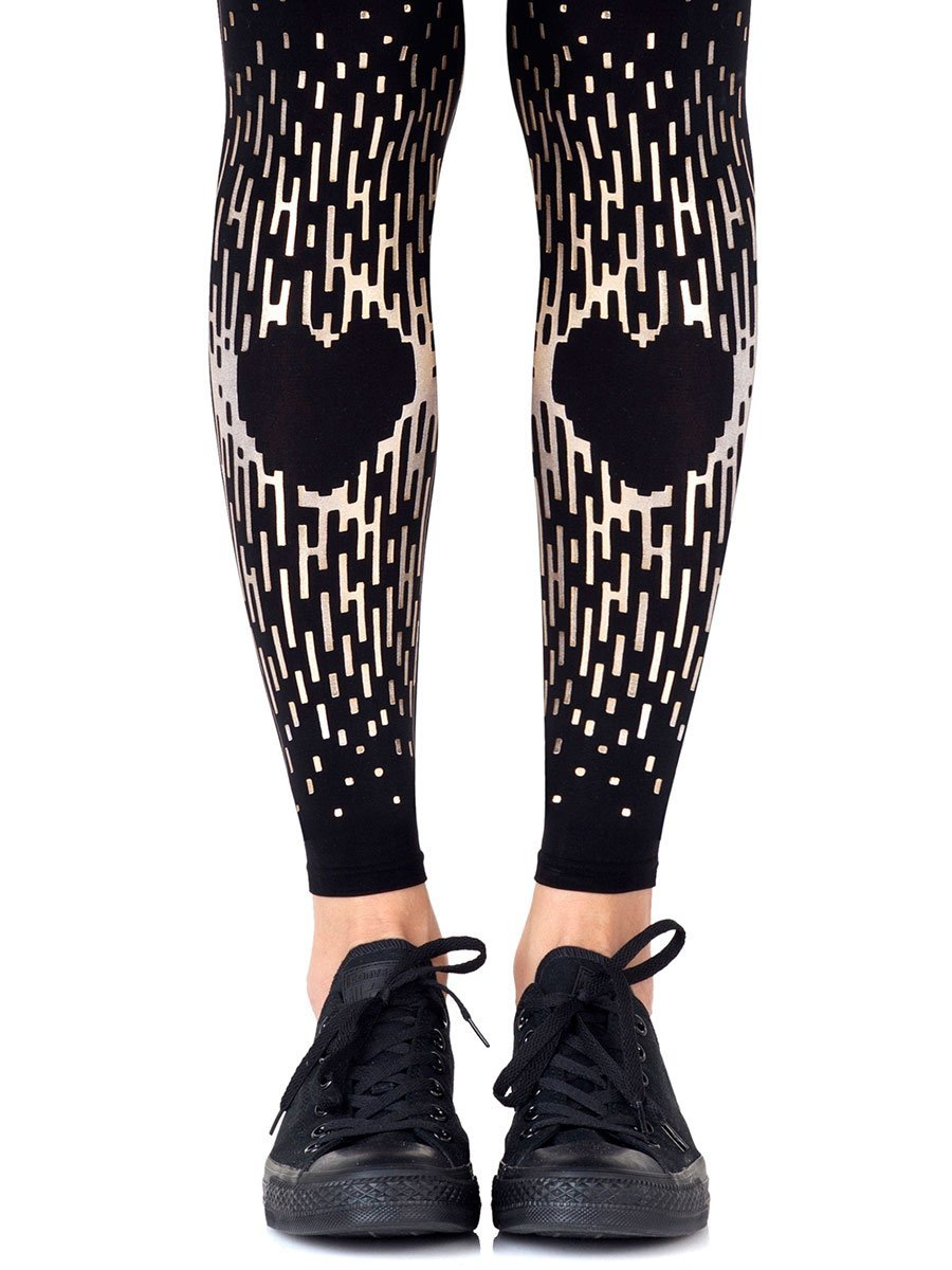 Spread The Love Footless Tights