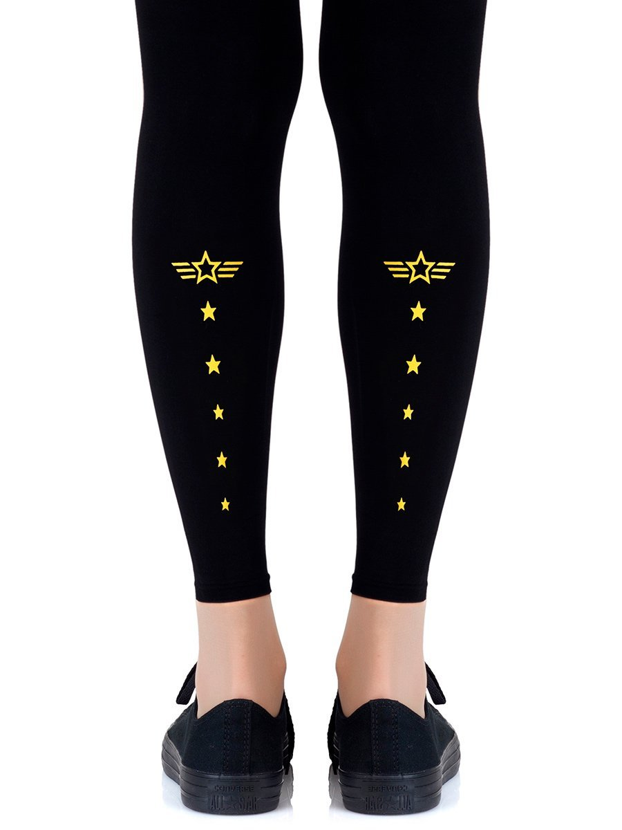Top Gun Footless Tights