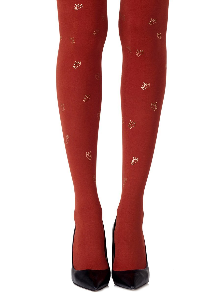 Royal Treatment Rust Tights