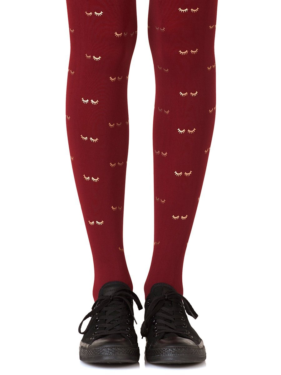 Daydreaming Burgundy Tights