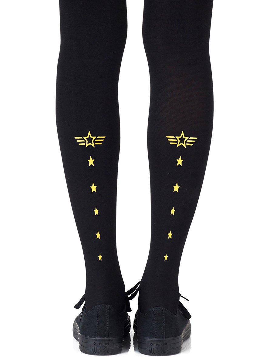 Top Gun Yellow Tights