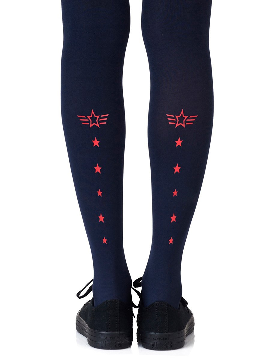 Top Gun Red Tights