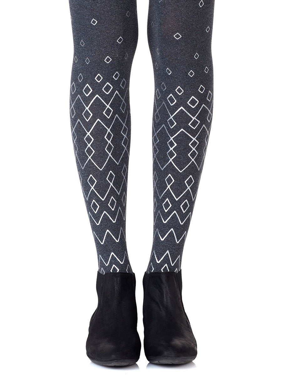 Diamonds Are Forever Heather Grey Tights
