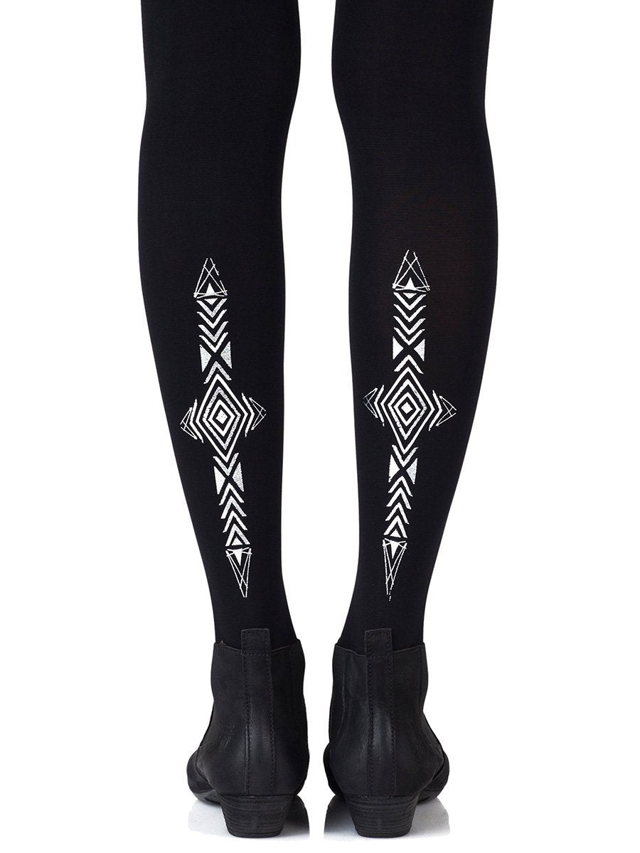 Wanderlust Black Tights