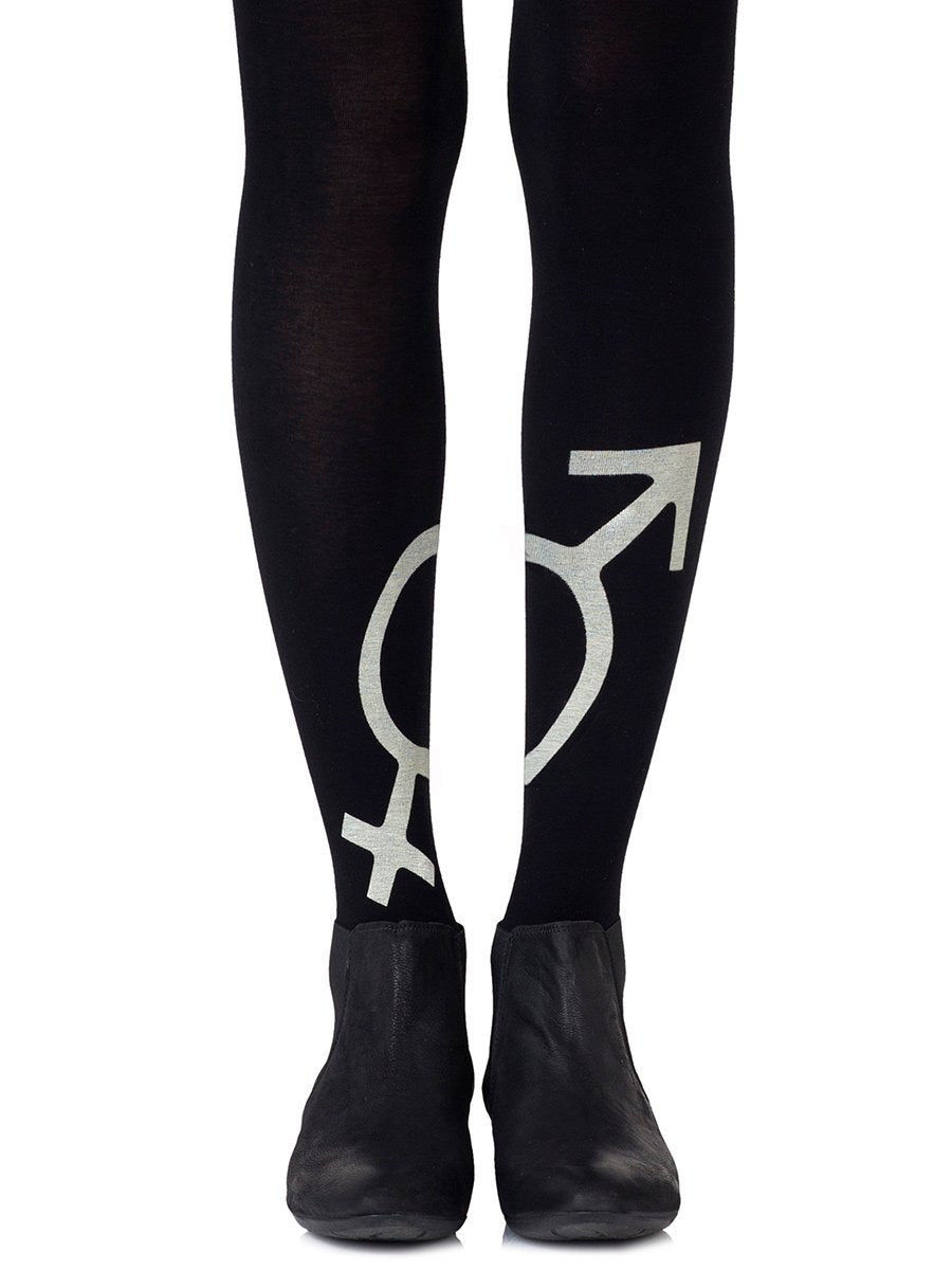 Mars + Venus Black Tights