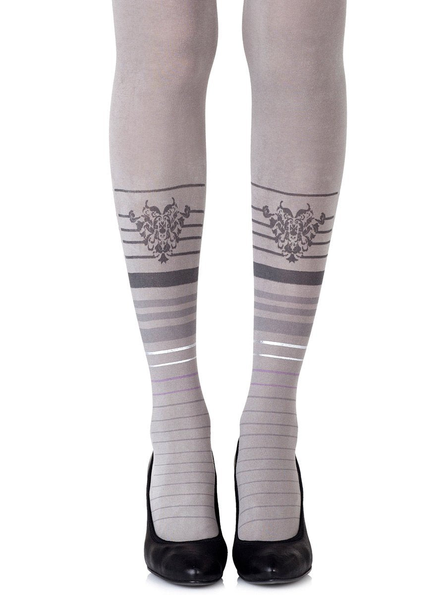 Bottom Line Grey Tights